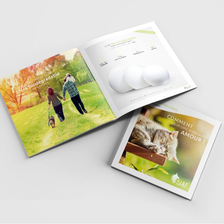 Création identité visuelle et catalogue SIAF - COWAGENCY