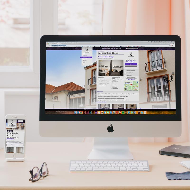 Création site Internet avec réservation en ligne - COWAGENCY